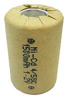 Аккумулятop 1,2v 1500mAh  4/5SC  Ni-CD для батарей шуруповерта