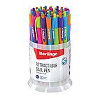 """Ручка шариковая автоматическая Berlingo """" Triangle Fuze RT"""" синяя,0.7 мм, трехгранный корпус, фото 3"""
