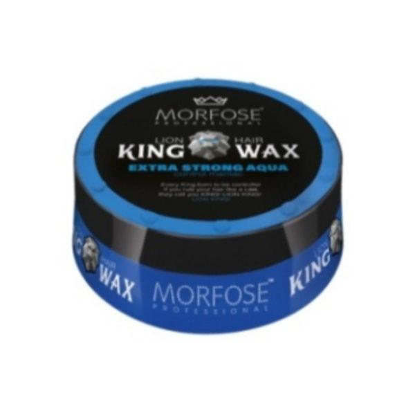 Morfose King Hair Wax Воск для волос Королевский Extra Strong Aqua 175 мл