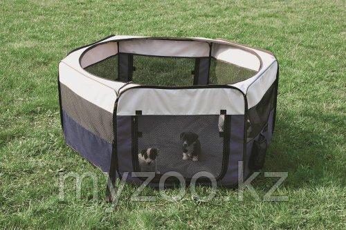 Вольер,диаметр 130см, высота 55см.Для щенков и мелких пород собак.