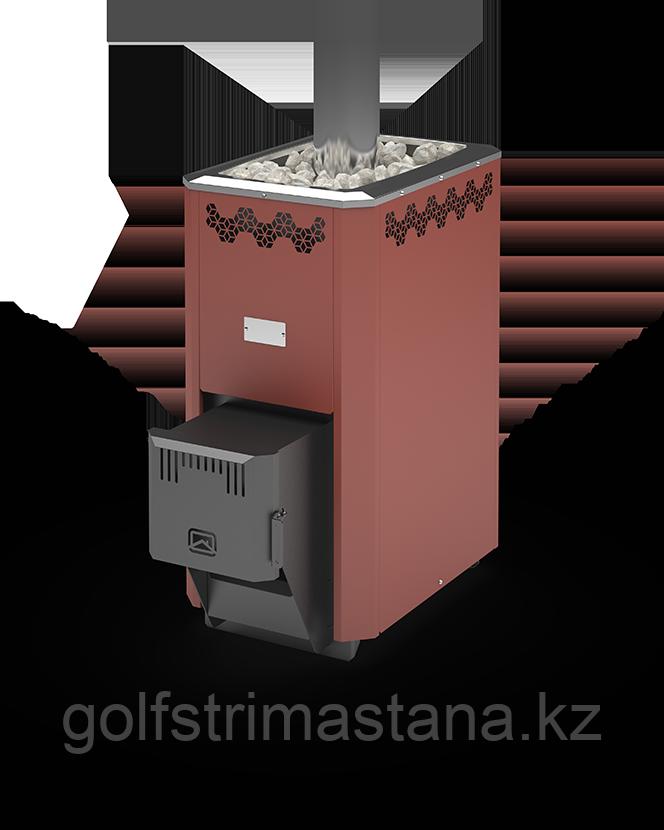 Печь угольная для бани и сауны Кузбасс Оптима-14 ТК