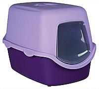 Туалет-био пластиковый с крышей,без угольного фильтра, с дверцей, размер 40×40×56см