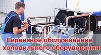 Сервисное обслуживание холодильного оборудования.