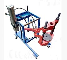 Strongbel HVPT75 Гидравлический выпрессовщик шкворней на тележке (с насосом)