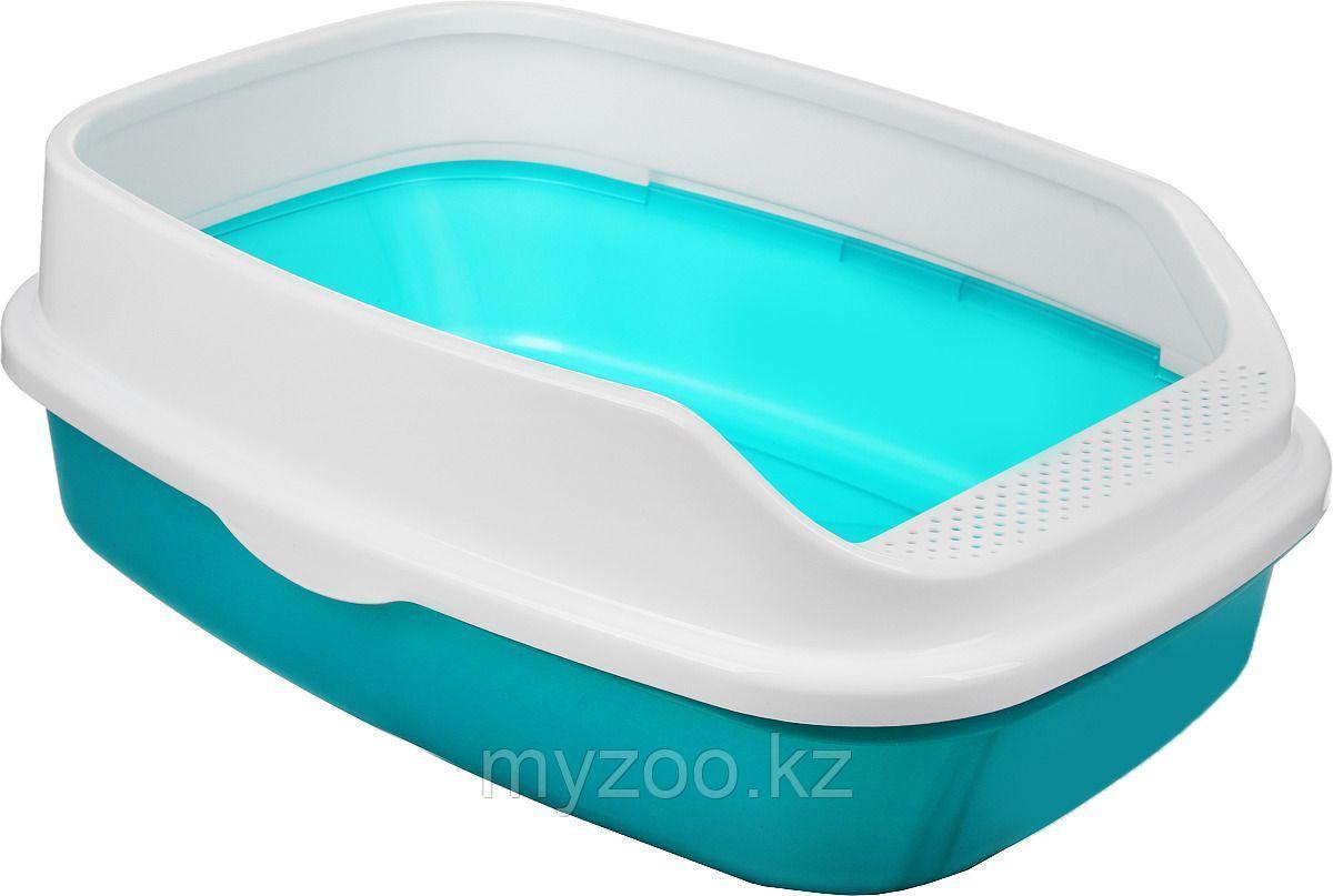 Delio туалет для кошек, with rim , 35 × 20 × 48 cm