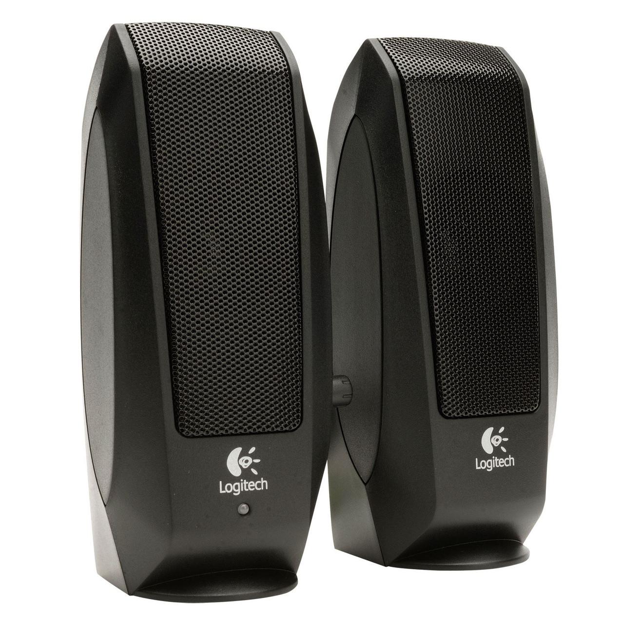 Logitech 980-000010 акустическая система 2.0 S120 Black