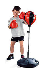 """Игровой набор """"Бокс"""", высота стойки от 80 до 110 см"""