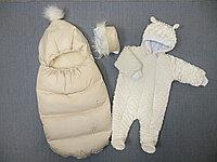 Комплект зимний на выписку из 3х предметов. Россия, фото 1