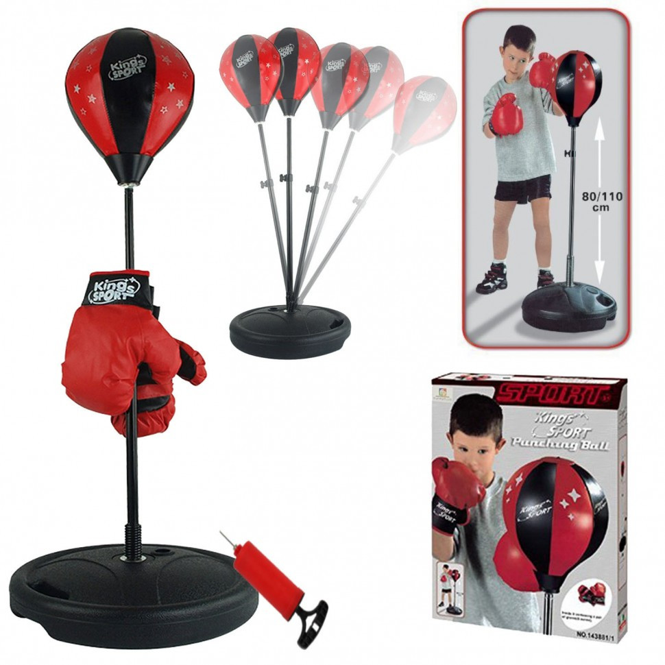 Детский набор Чемпионский набор для бокса  высота от 80 до 146 см