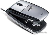 Mouse Genius Navigator 365 Laser,Серебристая,USB,Лазерная,1600dpi,5-кнопок,Игровая,с геймпадом