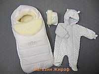 Комплект зимний на выписку из 3х предметов, фото 1