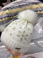 Шапки зима для новорожденных. Россия, фото 1