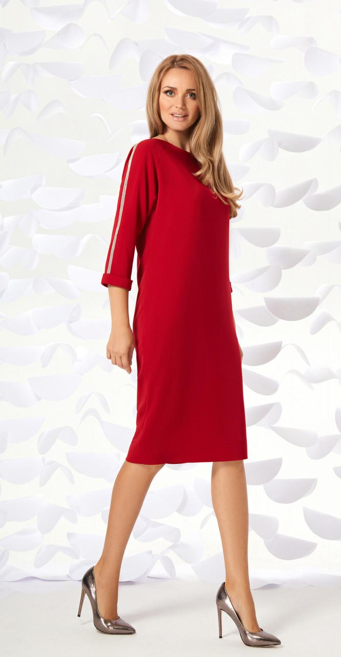 Платье Магия Моды-1596, красный, 52