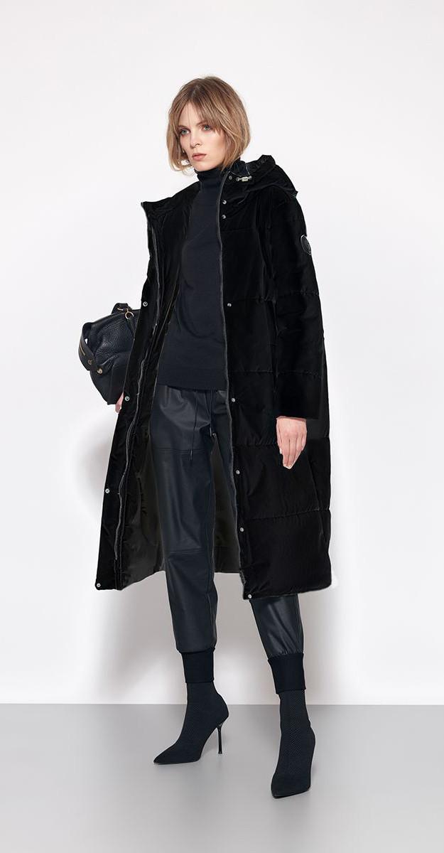 Пальто Favorini-21519, черный, 42
