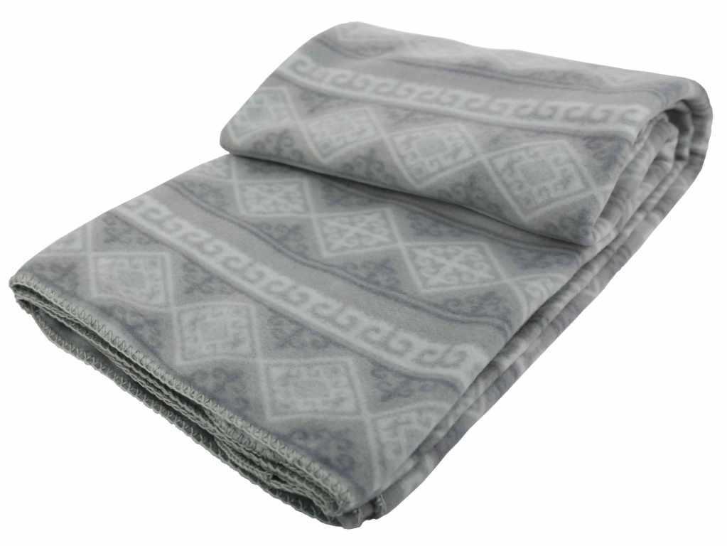 Одеяло (флисовое одеяло для укрывания)(1800*1350мм,серый)