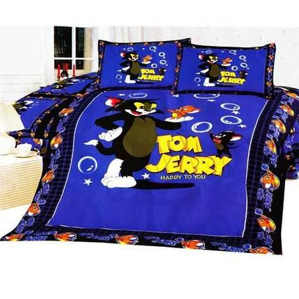 Покрывало стеганное детское «Том и Джерри», фото 2