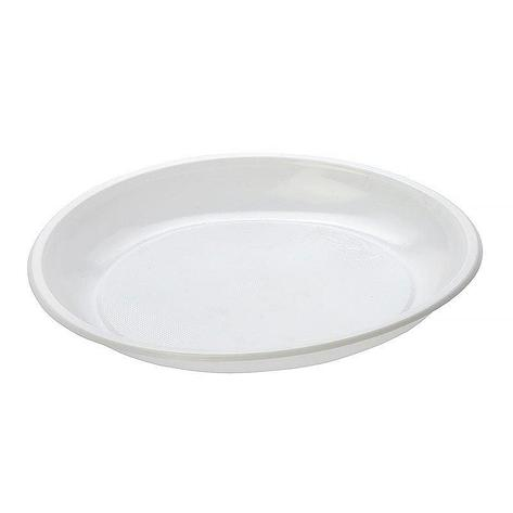 Тарелка дес., d 165мм, бел., ПП, 1400 шт, фото 2