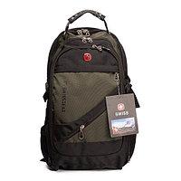 """Рюкзак Swissgear 8810 с отделением для ноутбука до 17"""" и чехлом от дождя (Хаки)"""