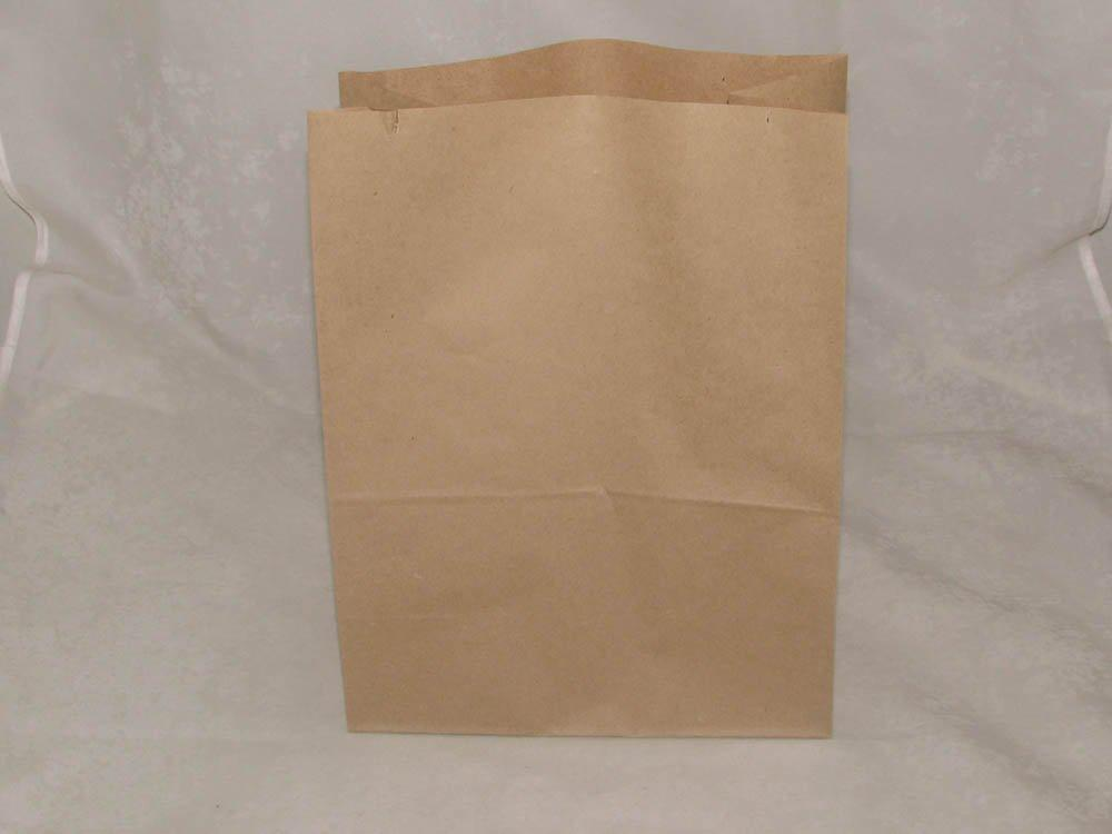 Пакеты на вынос (220+120)х290мм коричн. крафт  50 г/м2 ECO BAG , 1000 шт