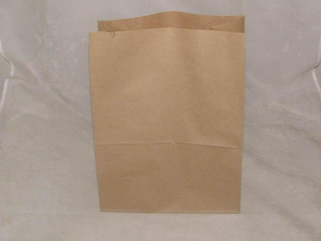Пакеты на вынос (220+120)х290мм коричн. крафт  50 г/м2 ECO BAG , 1000 шт, фото 2