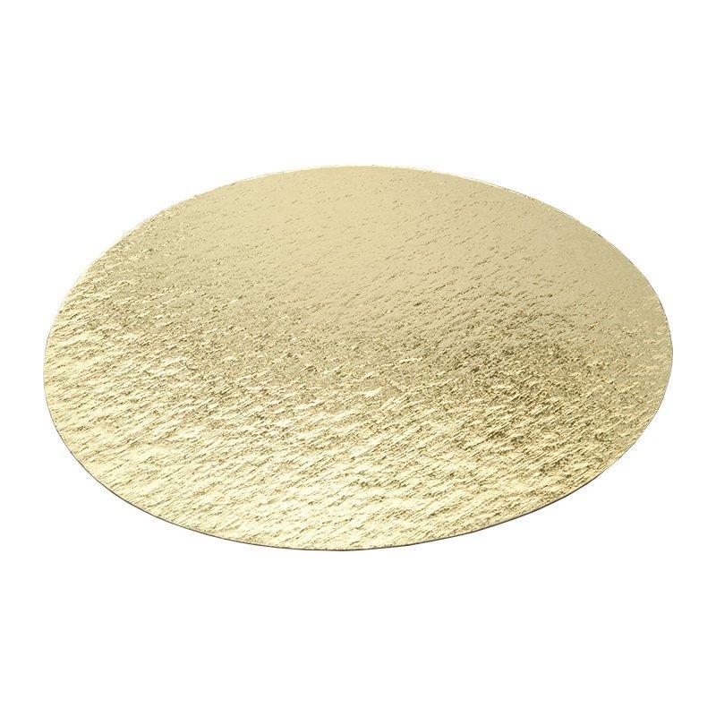 Подложка усиленная золото D 300 мм (толщина 0,8 мм)