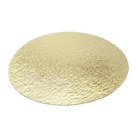 Подложка усиленная золото D 300 мм (толщина 0,8 мм), фото 2