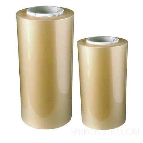Плёнка термоусадочная полурукав ПВХ 450/900мм х 650м 12,5мкм, RANPAC, фото 2