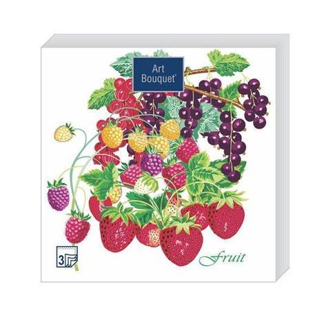 "Салфетки 33х33см, 2 сл., ""Летние фрукты"", Бумага, 20 шт, фото 2"