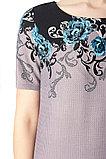 Женское платье прямого силуэта. Размеры - 44, 46, 54, 56, 58. , фото 3