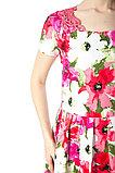 Яркое женское летнее платье с кружевной спинкой. Россия. Wisell. 42 и 46 р., фото 3