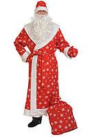 Костюм Дед Мороз со снежинками