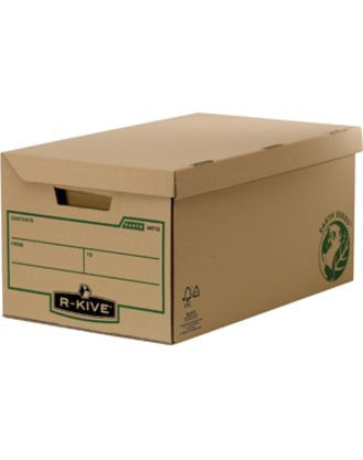 «Архивный короб большой с крышкой, R-Kive® Earth Series, 325x260x535 мм, картон, крафт»