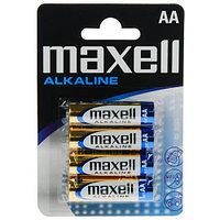 Батарейка алкалиновая    Maxell Alkaline AA blist