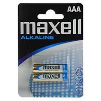 Алкалиновая батарейка   Maxell Alkaline AAA blist LR03.