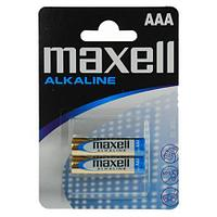 Батарейка алкалиновая    Maxell Alkaline AAA blist LR03.