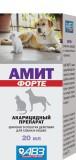 Амит Форте, Капли ушные для кошек и собак, 20мл.
