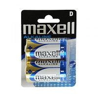 Батарейки  алкалиновые  Maxell Alkaline LR20, D 1шт blister