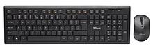 Trust NOLA Комплект клавиатура+мышь RU беспроводной черный
