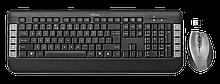Trust Tecla Комплект клавиатура+мышь RU беспроводной черный