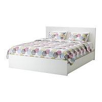 Кровать +2 ящика МАЛЬМ белый 160х200 Лурой ИКЕА, IKEA   , фото 1