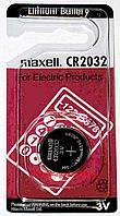 Батарейки таблетки  Maxell CR2032