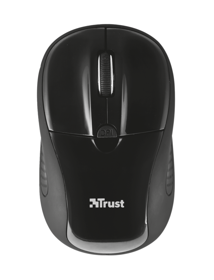 TRUST Primo мышь беспроводная, цвет черный