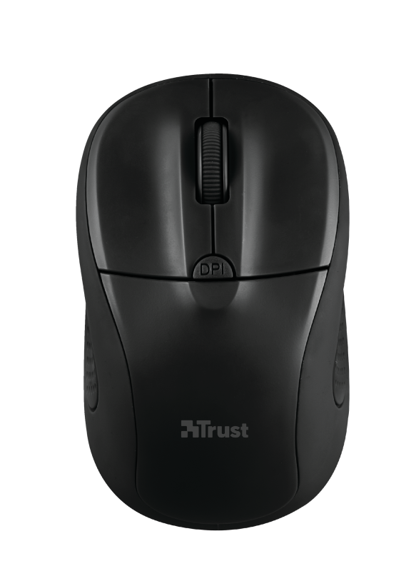 TRUST Primo мышь беспроводная, цвет черный матовый