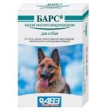 БАРС Капли для собак, инсекто-акарицидные на холку, уп. 4пипетки