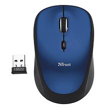 TRUST Yvi мышь беспроводная синий