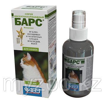 БАРС Спрей для кошек от блох, клещей, фл. 100 мл.