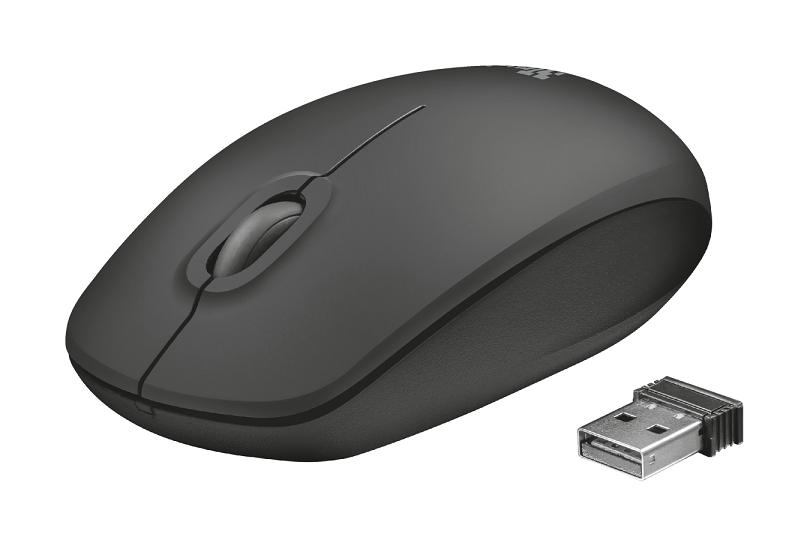 TRUST Ziva Optical мышь беспроводная черный