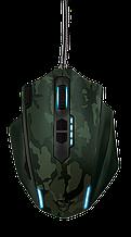 TRUST GXT155C GAMING MSE-CAMO мышь игровая зеленый