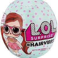 LOL Surprise Hairvibes лол с париками