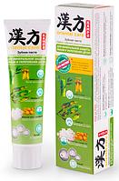 Паста зубная KAMPO Бамбук с морской солью и кальцием для минеральной защиты эмали и укрепления десен, 100 г